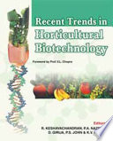 Recent Trends in Horticultural Biotechnology Book