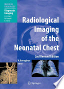 Radiological Imaging Of The Neonatal Chest Book PDF
