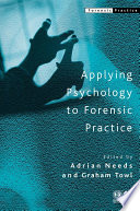 Applying Psychology to Forensic Practice Book
