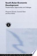 South Asian Economic Development Book PDF