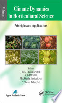 Climate Dynamics in Horticultural Science  Volume One Book