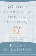 30 Days to Experiencing Spiritual Breakthroughs