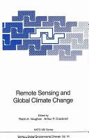 Remote Sensing and Global Climate Change Book