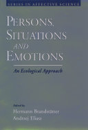 Persons, Situations, and Emotions [Pdf/ePub] eBook