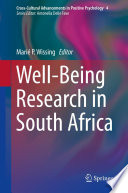 Well Being Research In South Africa Book
