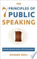 The 7 Principles of Public Speaking Book