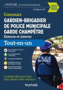 Pdf Concours Gardien-brigadier de police municipale - Garde champêtre - 2021-2022 Telecharger
