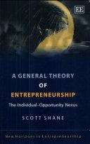 A General Theory of Entrepreneurship [Pdf/ePub] eBook