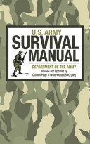U S  Army Survival Manual