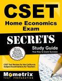 Cset Home Economics Exam Secrets Study Guide