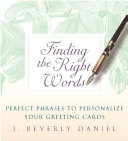 Finding the Right Words Pdf/ePub eBook