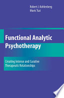 Functional Analytic Psychotherapy Book