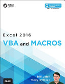 Excel 2016 Vba And Macros Includes Content Update Program