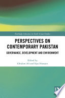 Perspectives on Contemporary Pakistan