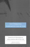 LLC Operating Agreements Line by Line