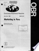 Marketing in Peru