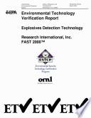 Explosives Detection Technology Book PDF