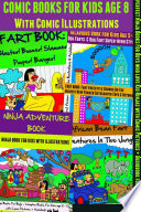 Comic Books For Kids Age 8 - Comic Illustrations - Ninja Books For Boys - Kid Ninjas