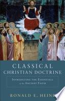 Classical Christian Doctrine