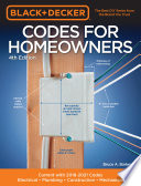 Black   Decker Codes for Homeowners 4th Edition