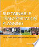 Sustainable Transportation Planning Book