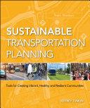 Sustainable Transportation Planning