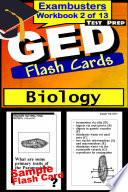 GED Test Prep Biology Review  Exambusters Flash Cards  Workbook 2 of 13 Book
