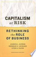 Capitalism At Risk Book PDF