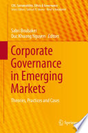 Corporate Governance In Emerging Markets Book PDF