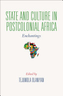 State and Culture in Postcolonial Africa Pdf/ePub eBook