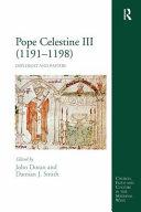 Pope Celestine III  1191 1198  Book