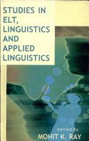 Studies in ELT  Linguistics and Applied Linguistics