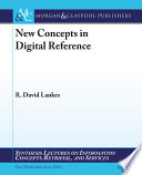 New Concepts In Digital Reference Book PDF