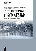 Pdf Institutional Change in the Public Sphere Telecharger