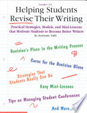 Helping Students Revise Their Writing