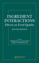 Ingredient Interactions Pdf/ePub eBook