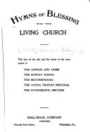 Hymns of Blessing for the Living Church
