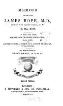 Memoir of the Late James Hope