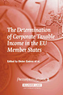 The Determination of Corporate Taxable Income in the EU Member States