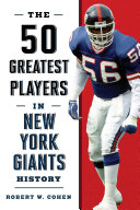 The 50 Greatest Players in New York Giants History