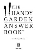 The Handy Garden Answer Book