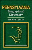 Pennsylvania Biographical Dictionary [Pdf/ePub] eBook