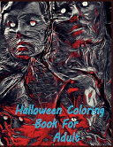 Halloween Coloring Book For Adult