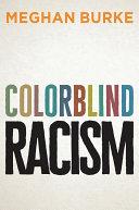 Colorblind Racism [Pdf/ePub] eBook