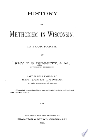 Download History of Methodism in Wisconsin Free Books - Dlebooks.net