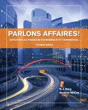Parlons Affaires!: Initiation Au Français Economique Et Commercial Pdf/ePub eBook
