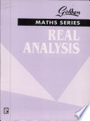 Golden Real Analysis Book