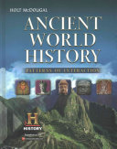 Ancient World History Book