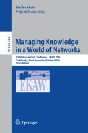 Managing Knowledge in a World of Networks