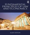 Fundamental Principles of Law and Economics Pdf/ePub eBook